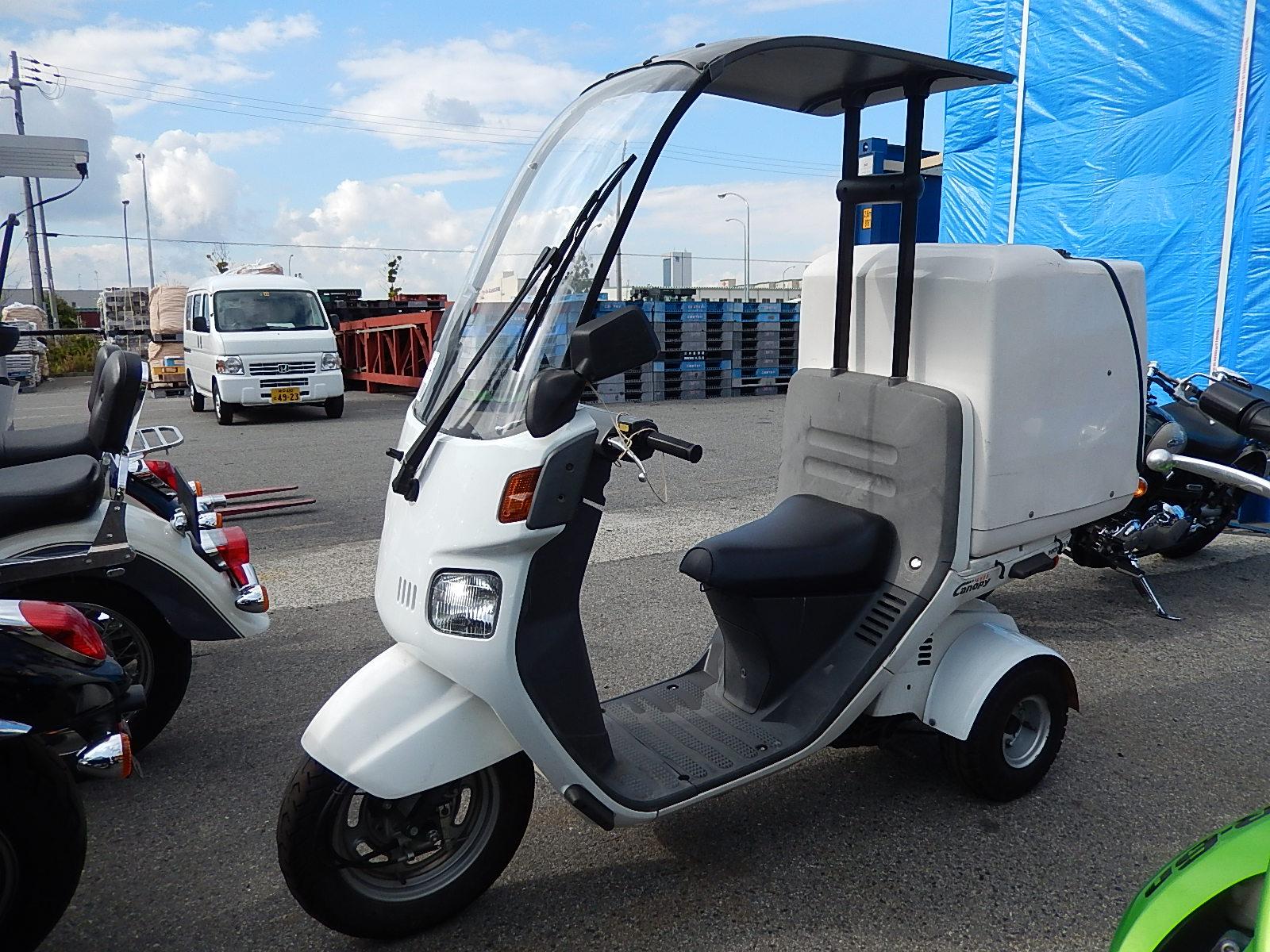 грузовые Скутеры Honda gyro