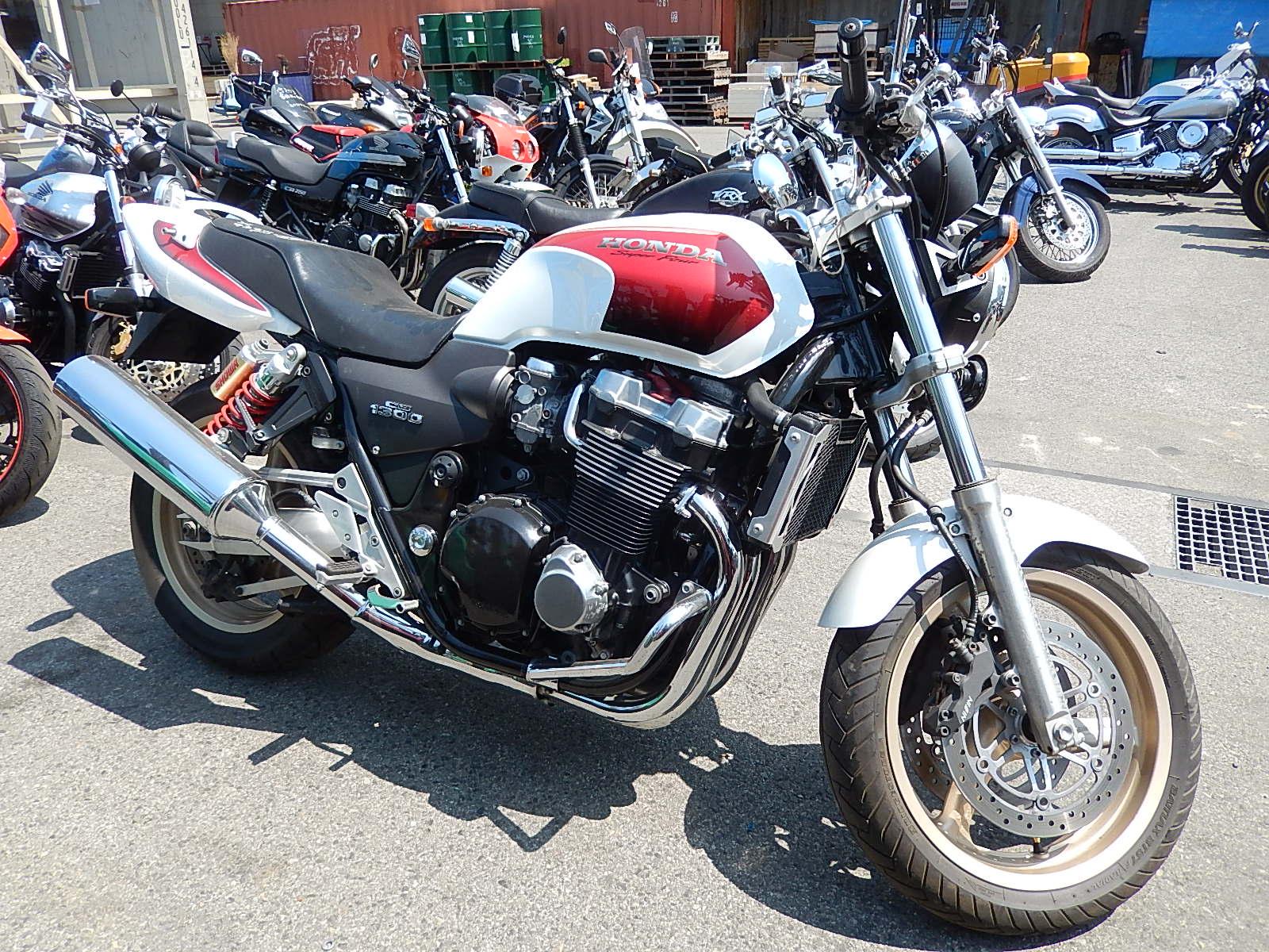 Honda cb 1300 разбор #5
