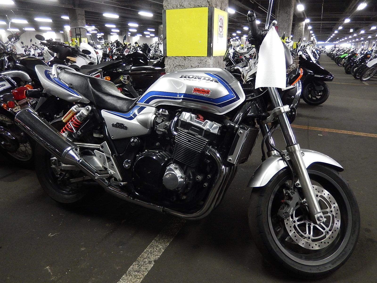 Honda cb 1300 разбор #3
