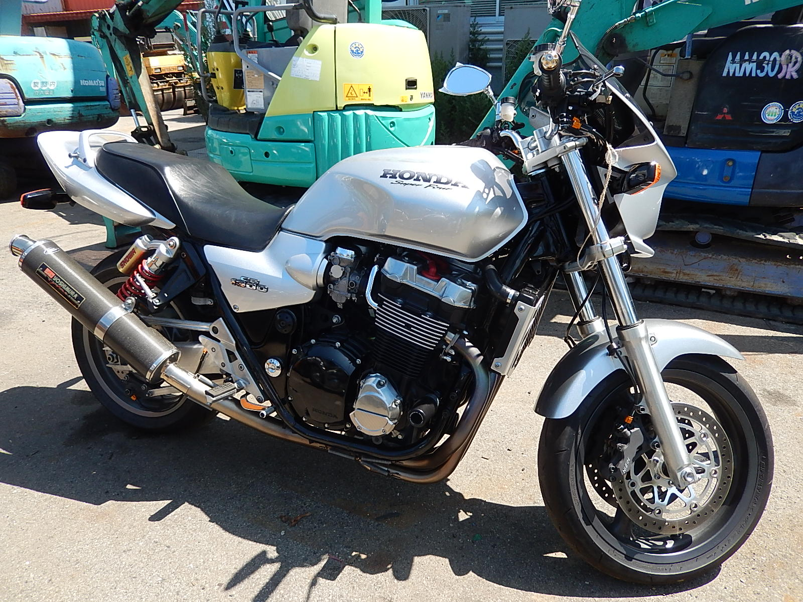 Honda CB 1300 разбор #10